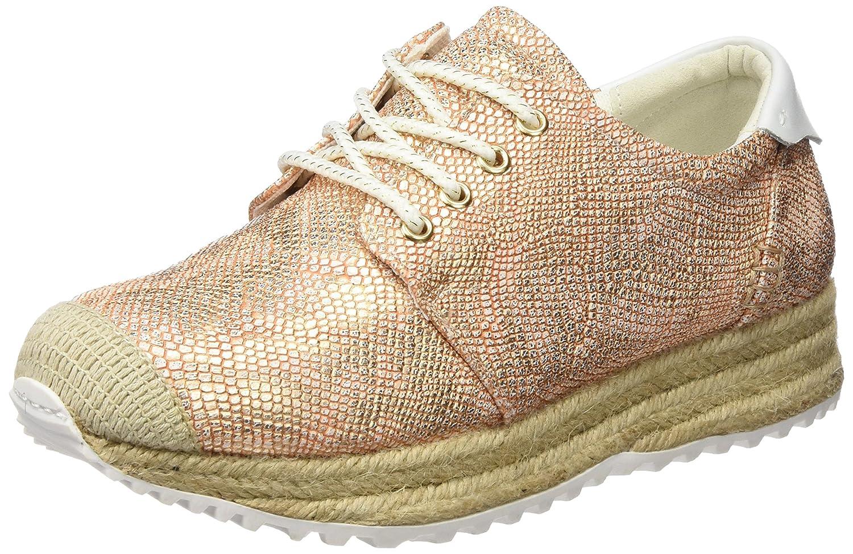 Sixtyseven 77953 - Zapatillas para Mujer 38 EU Multicolor (Merx Oro Rosa/Blanco)
