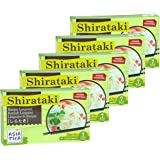 Asiatica - Shirataki Nudeln Linguini - 5er Pack - 5 x 300g / ATG 200g