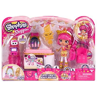 Shopkins Shoppies Lippy Lulu's Beauty Boutique: Toys & Games