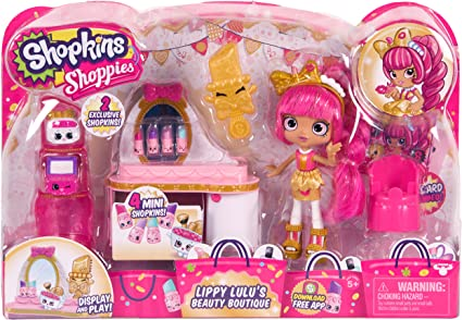 EXCLUSIVE Shopkins MARCEE MAKEUP BAG From Shoppies Set 2017 Release