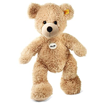 Steiff Fynn Teddy Bear Plush, Beige: Toys & Games