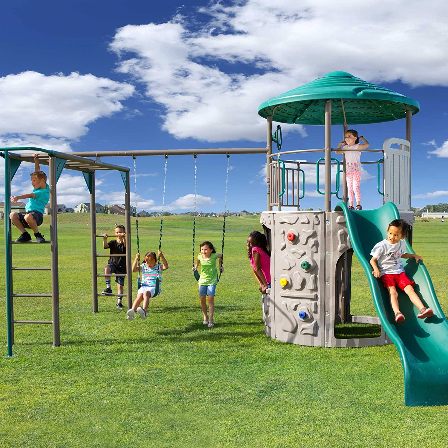Top 11 Best Outdoor Playsets For Toddlers 2020 Reviews 9