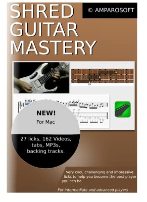Shred Guitar Mastery for Mac OS X [Download]