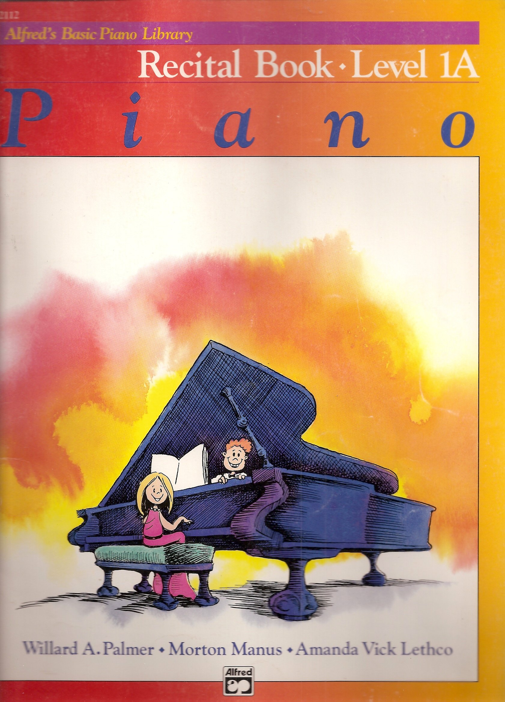 Alfred's Basic Piano Library, Recital Book Level 1A