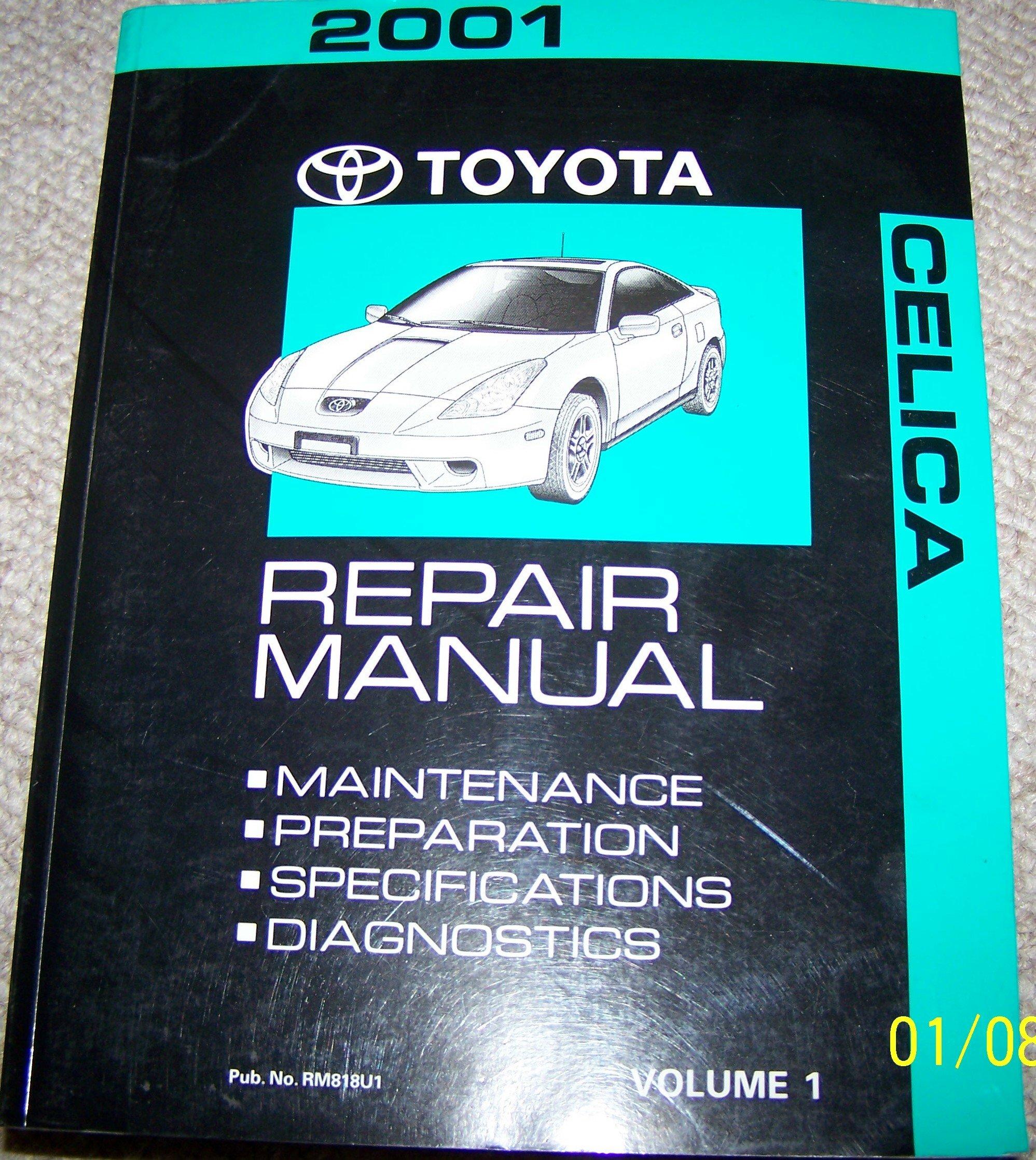 2001 toyota celica service shop repair manual toyota motor corp rh amazon com toyota celica workshop manual free download toyota celica service manual