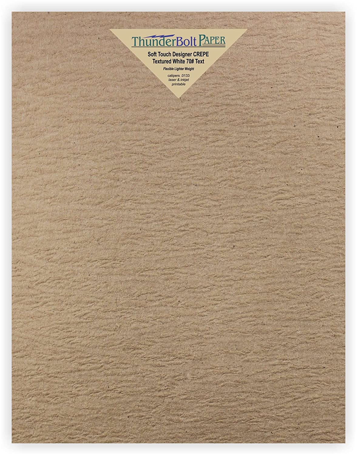 Amazon. Com: 50 new soft touch designer crepe brown kraft paper.
