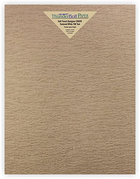 Amazon. Com: 100 new soft touch designer crepe brown kraft paper.