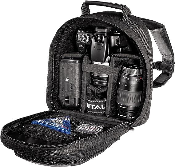 Hama Track Pack II 140 - Estuche para cámaras de Foto: Amazon.es: Electrónica