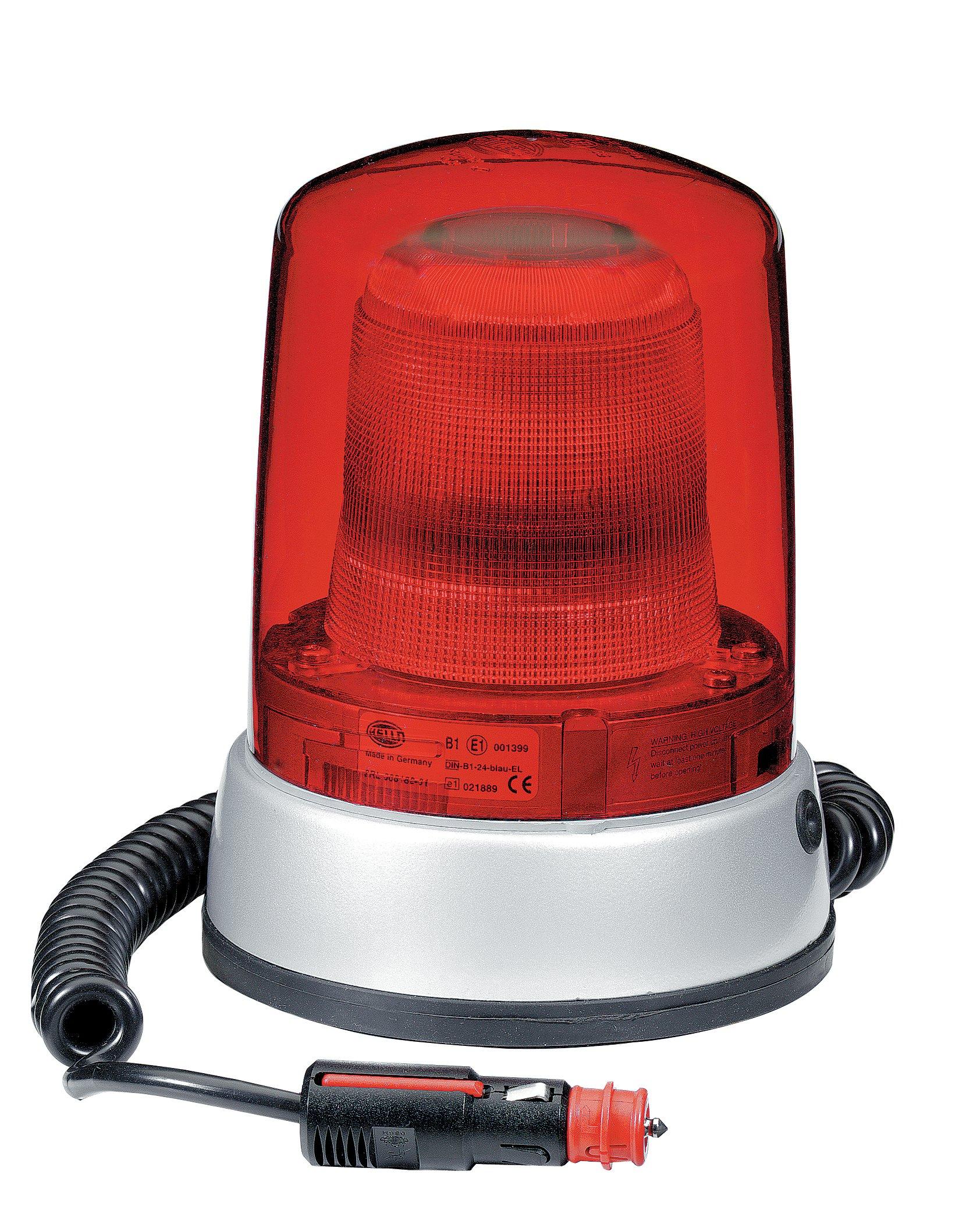 HELLA 9EL 862 140-041 Lens, rotating beacon