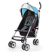 Summer Infant 3Dlite Convenience Stroller, Caribbean Blue