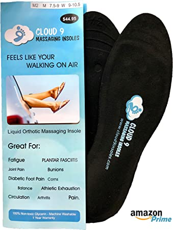547807cbe378 Amazon.com  Dynamic Liquid Massaging Orthotic Insoles