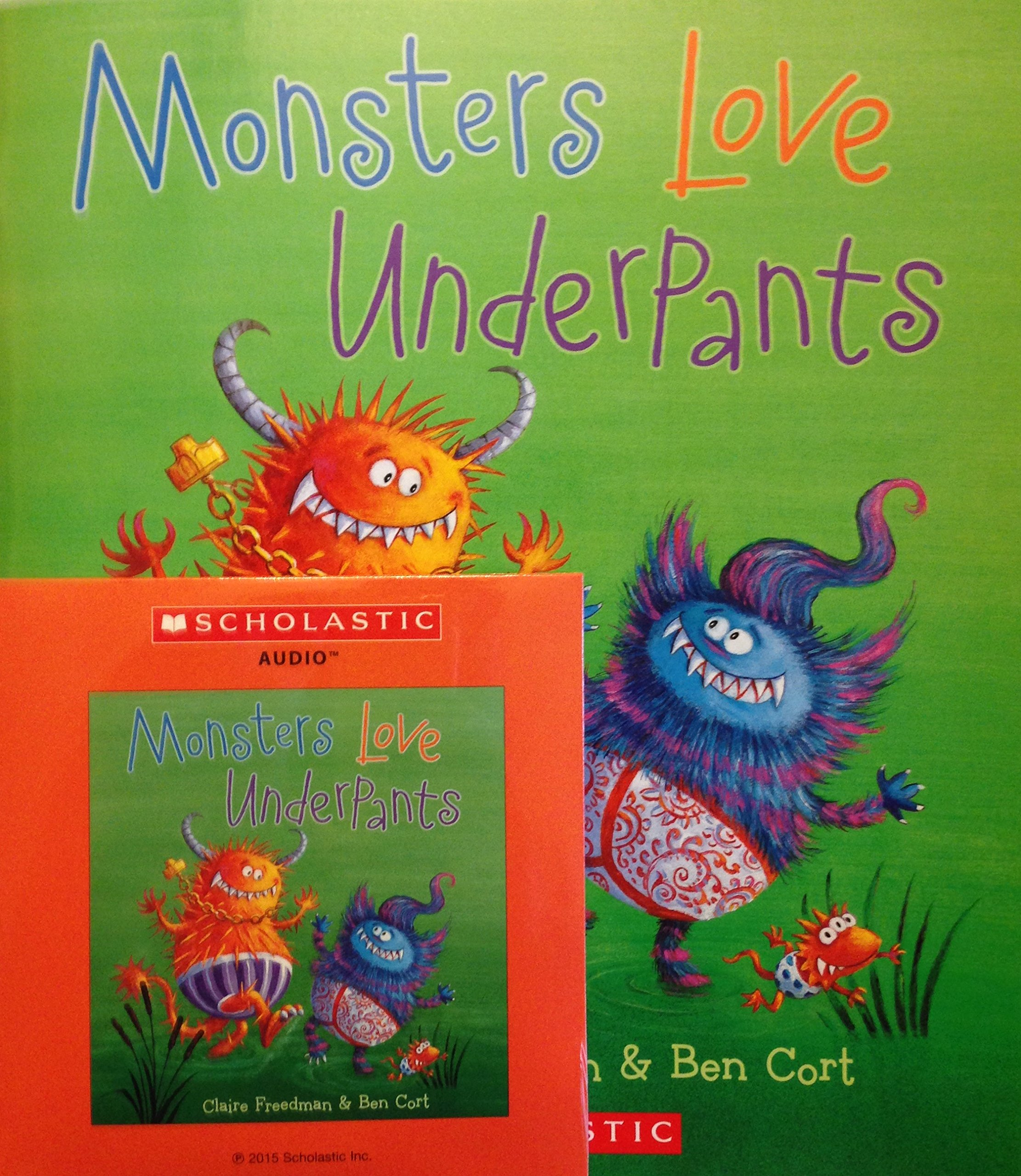 Monsters Love Underpants Book and Audio CD PDF ePub ebook