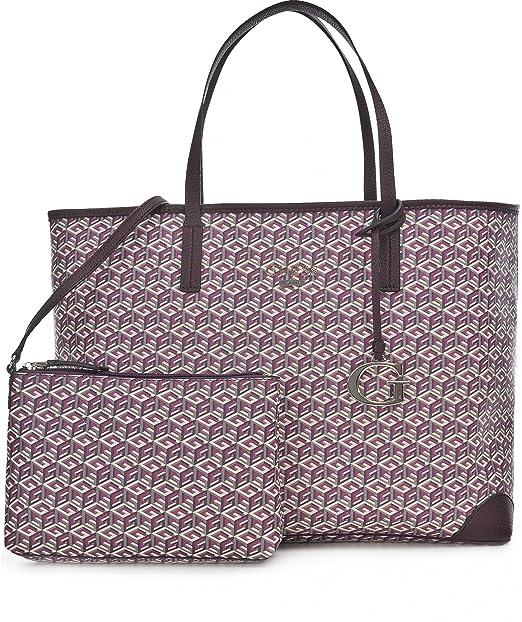 Bolso Dg456324 esZapatos Guess Y Shopper Mujer TuAmazon Bordeaux Y6gvfyI7b