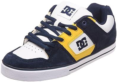 DC Shoes Pure Slim Mens Shoe D0301970, Herren Sneaker, Blau (DC Navy/