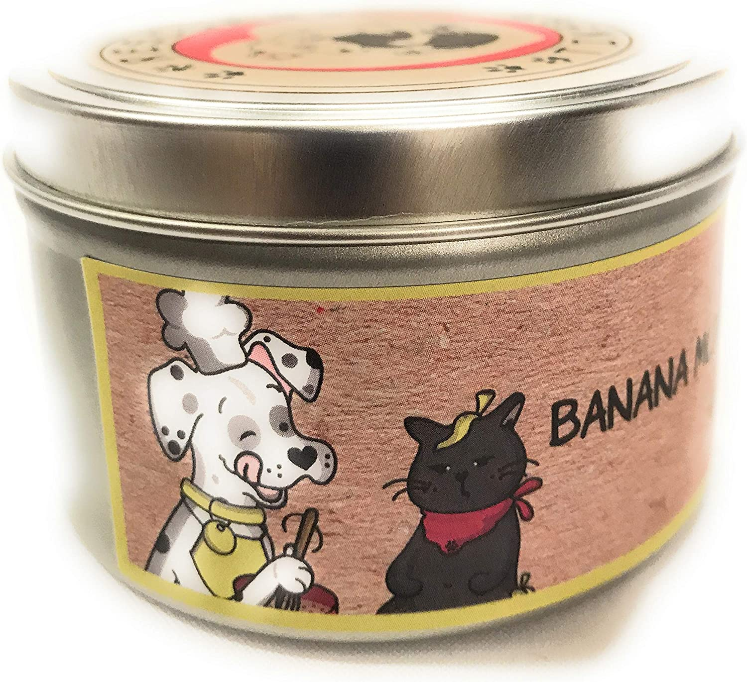 Fruity Candle Sample Pack  Natural Soy Wax  Set of 4 oz Mason Jar Candles  Portion of Proceeds Donated to Animal Rescues