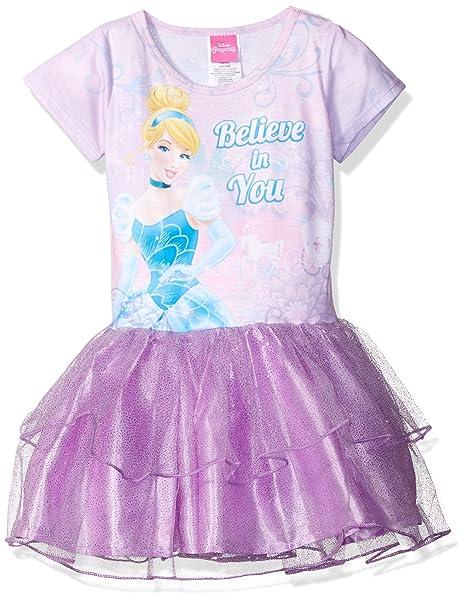 93d2c2c3170 Disney - Vestido de Cenicienta para niña  Amazon.com.mx  Ropa ...