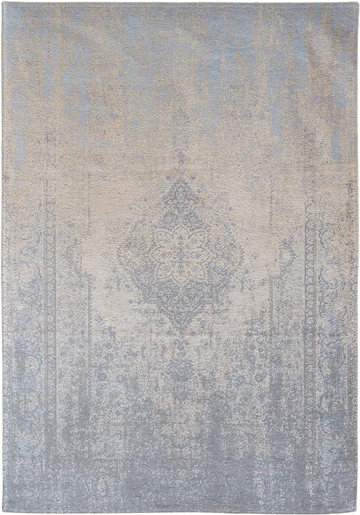Louis de Poortere Generation Alfombra, algodón, Gris y Beige, 150x80x0,03 cm: Amazon.es: Hogar