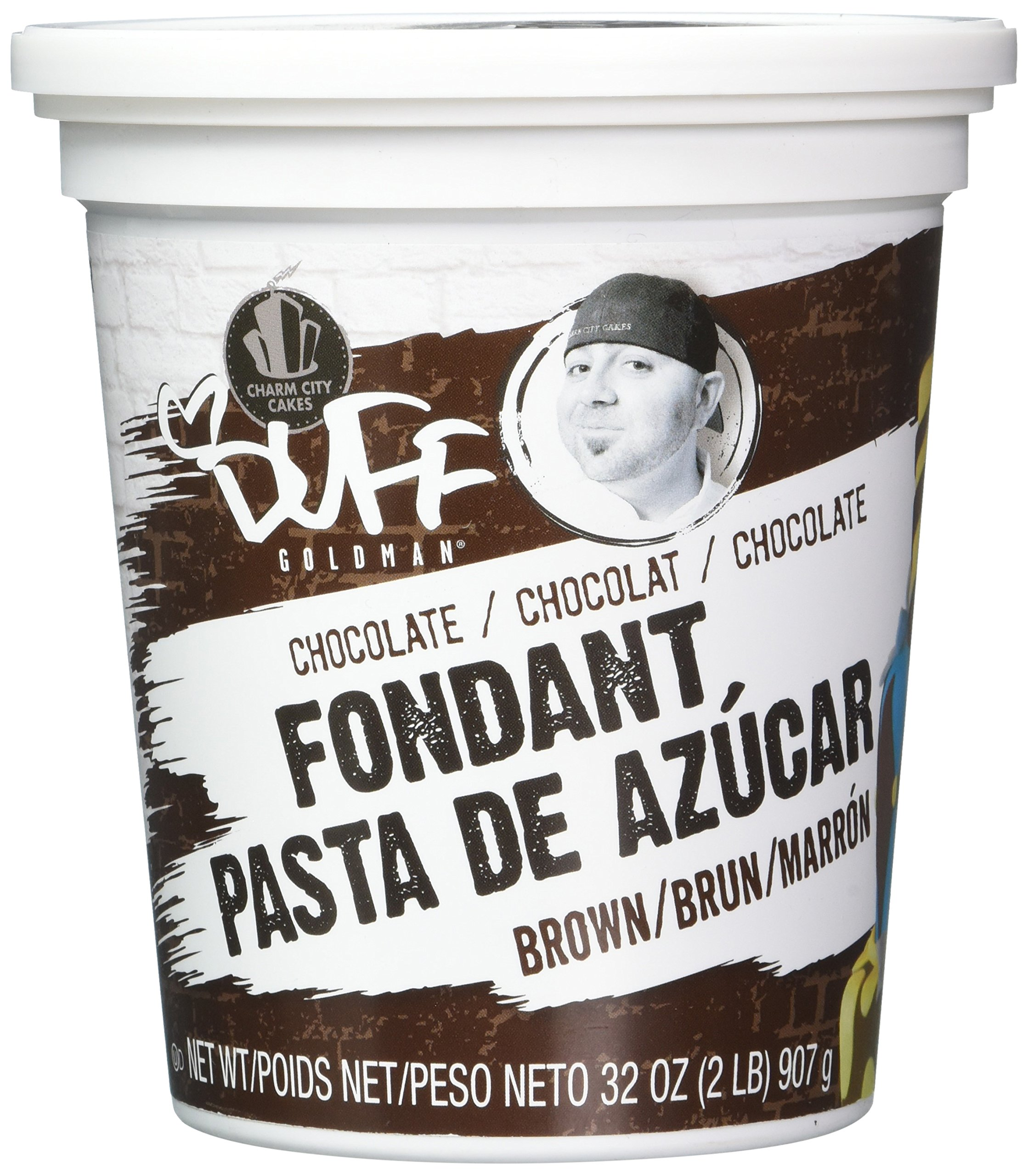 Duff - Buttercream Fondant 2Lb, Brown/Chocolate