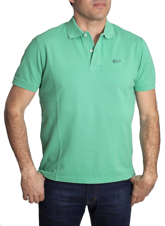 Tienda Calidad Herren Poloshirt Stone Green