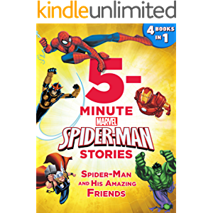 5-Minute Spider-Man Stories: Spider-Man and his Amazing Friends: 4 books in 1! (5-Minute Stories)