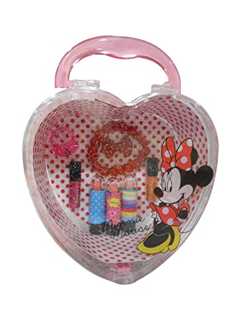 39881f6d9 Image Unavailable. Image not available for. Color  Disney Minnie Mouse Heart  ...