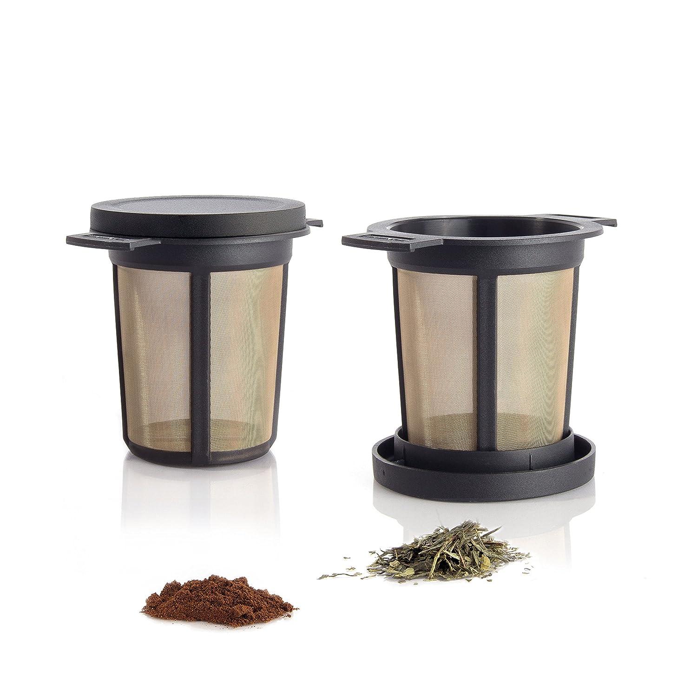 filtre th inox infuseur pour tasse boule permanent int gr th i re passoire ebay. Black Bedroom Furniture Sets. Home Design Ideas