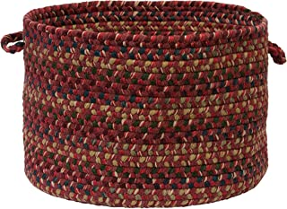 product image for Colonial Mills Midnight Utility Basket, 18 by 12-Inch, Burnt Brick