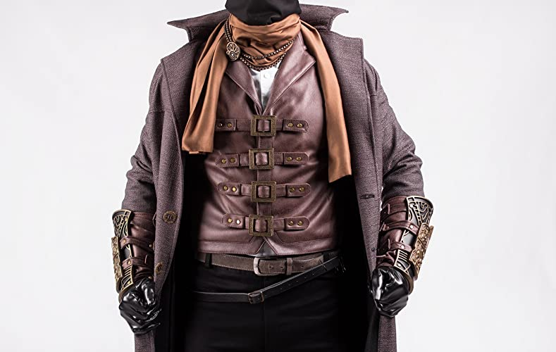 Amazoncom Hunter Cosplay Costume Garb From Bloodborne Video Game