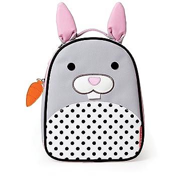 c4c2fef51c0a Skip Hop Zoo Kids Insulated Lunch Box, Bunny, Grey