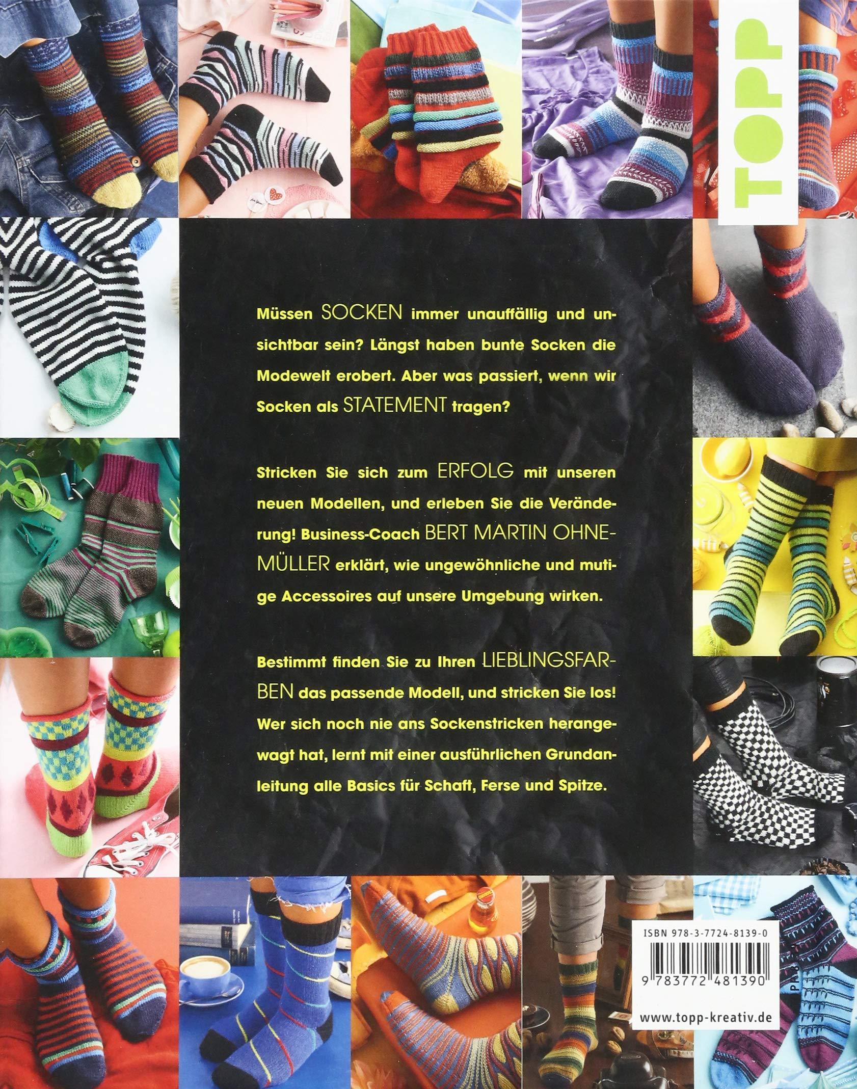 Statement Socken stricken: Mit Farben zum Erfolg. Business