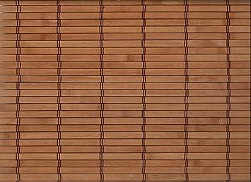 Amazon De Bambus Raffrollo Mit 7 5mm Staben Bambusrollo Breite