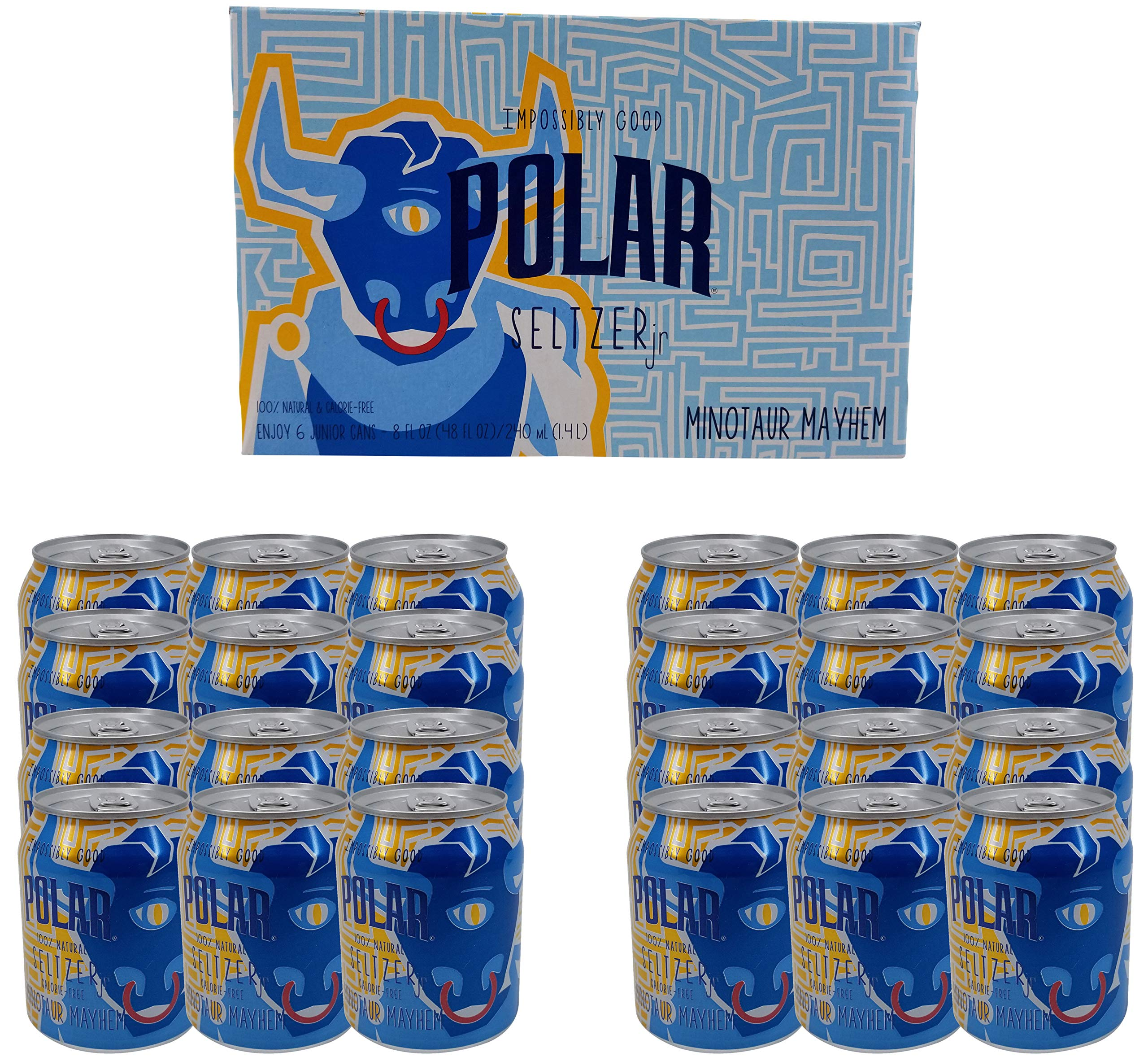 Polar Seltzer Impossibly Good Minotaur Mayhem 24 pk 8 oz. Cans by Generic