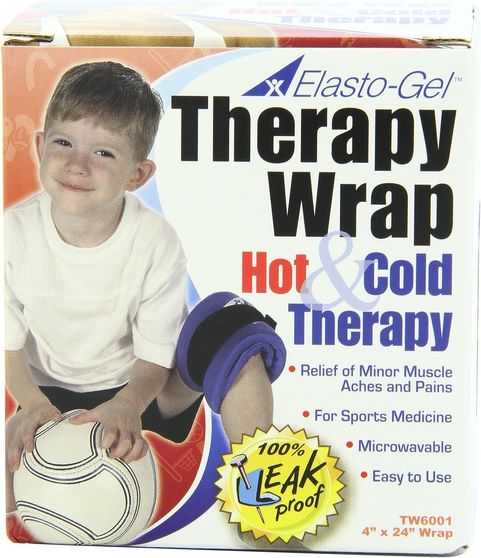 "Elasto Gel, Hot/Cold Wrap, 4"" X 24"""