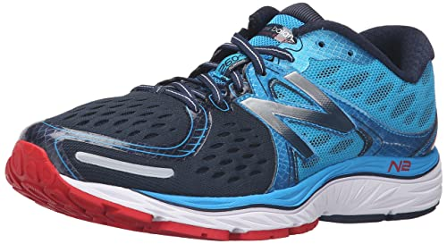 New Balance Hombre M1260V6 Running Shoe, Blue/Dark Grey, 44.5 2E EU: Amazon.es: Zapatos y complementos