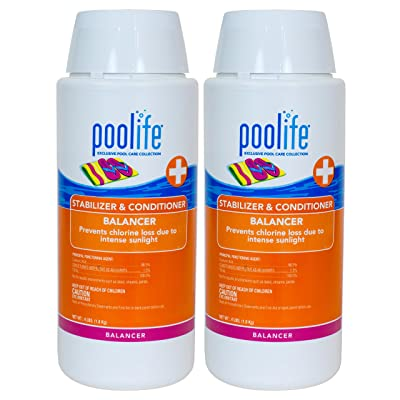 Poolife Stabilizer & Conditioner (4 lb) (2 Pack) : Garden & Outdoor