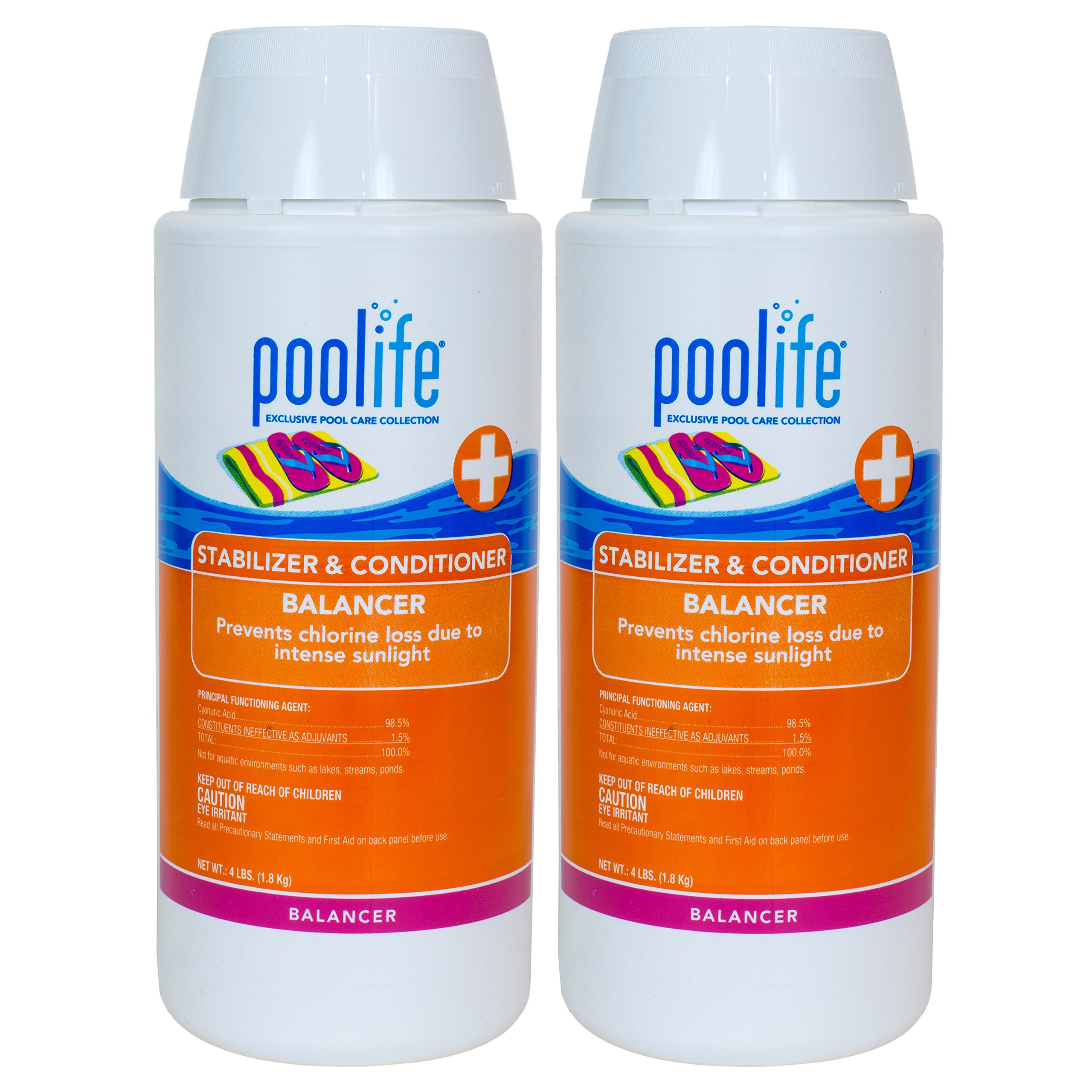 Poolife Stabilizer & Conditioner (4 lb) (2 Pack) by POOLIFE