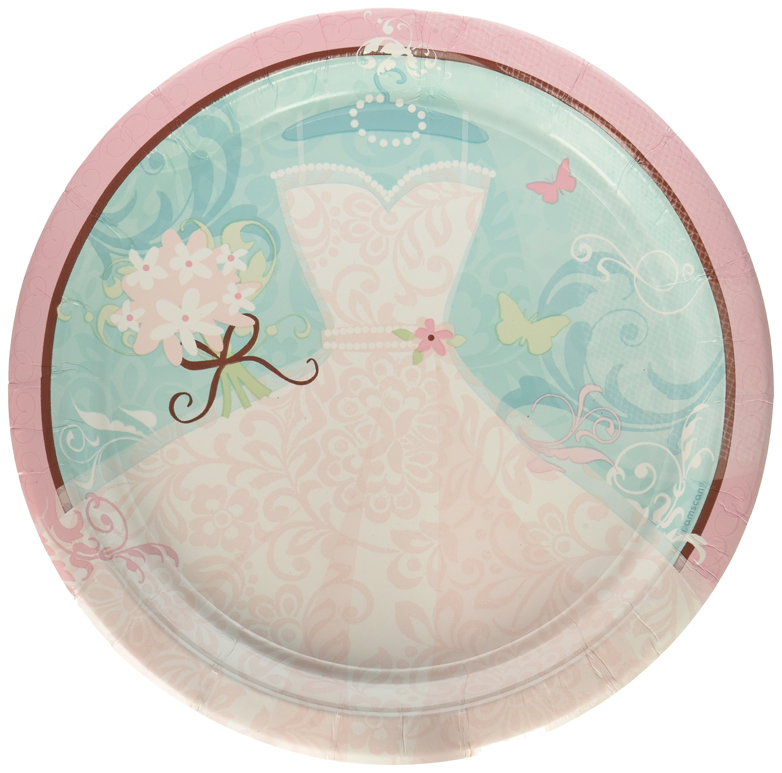 Something Blue 10.5'' Dinner Plates - 18-Pack