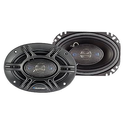 Blaupunkt 4 x 6-Inch 240W 4-Way Coaxial Car Audio Speaker, Set of 2