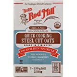 3,18kg. Bob's Red Mill Steel Cut Oats, Organic, 100% Whole Grain, Quick Cooking. (2x1,59kg. Bags) (NO Taxes ON This Item…