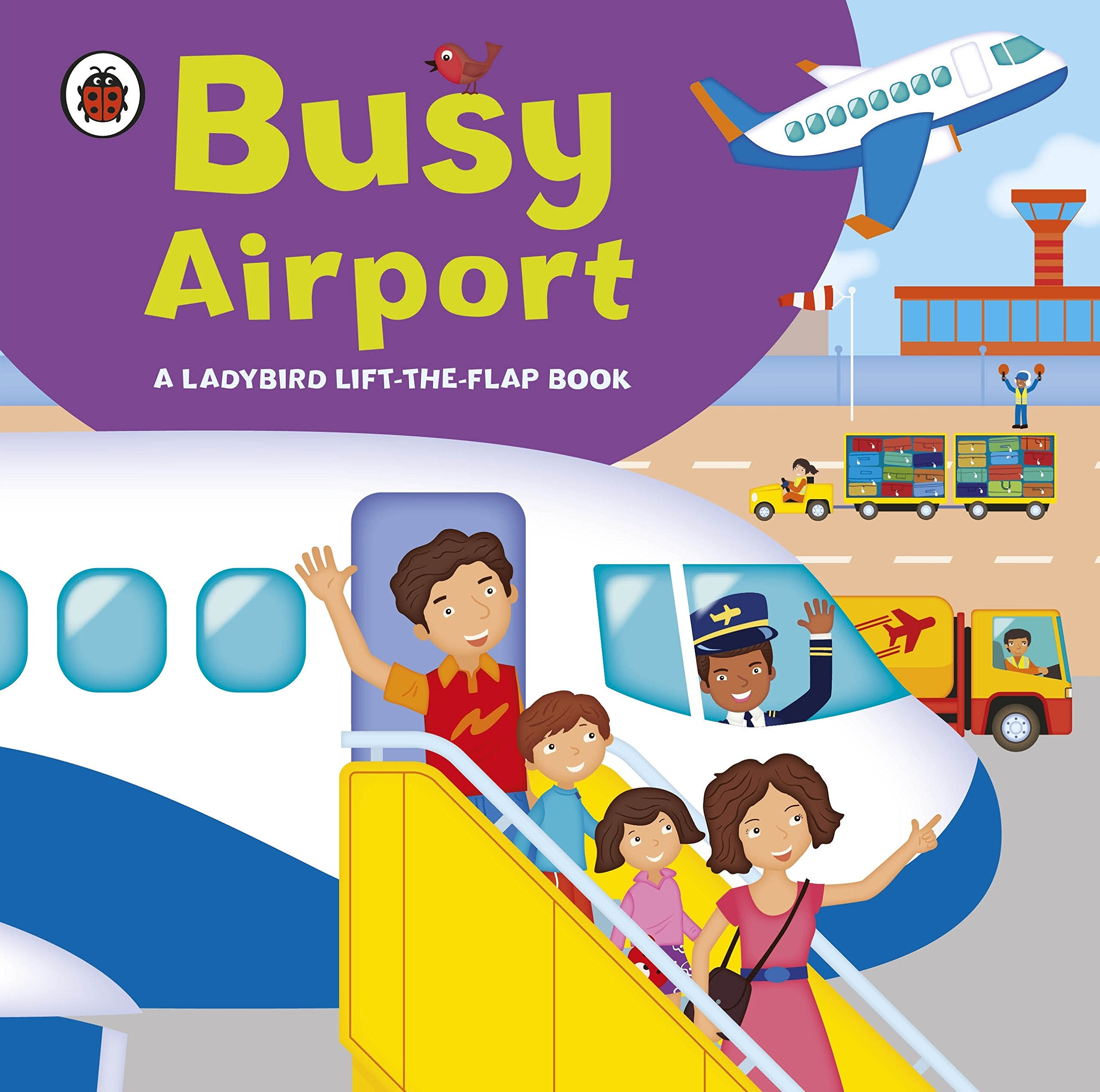Ladybird Lift The Flap Book Busy Airport ebook