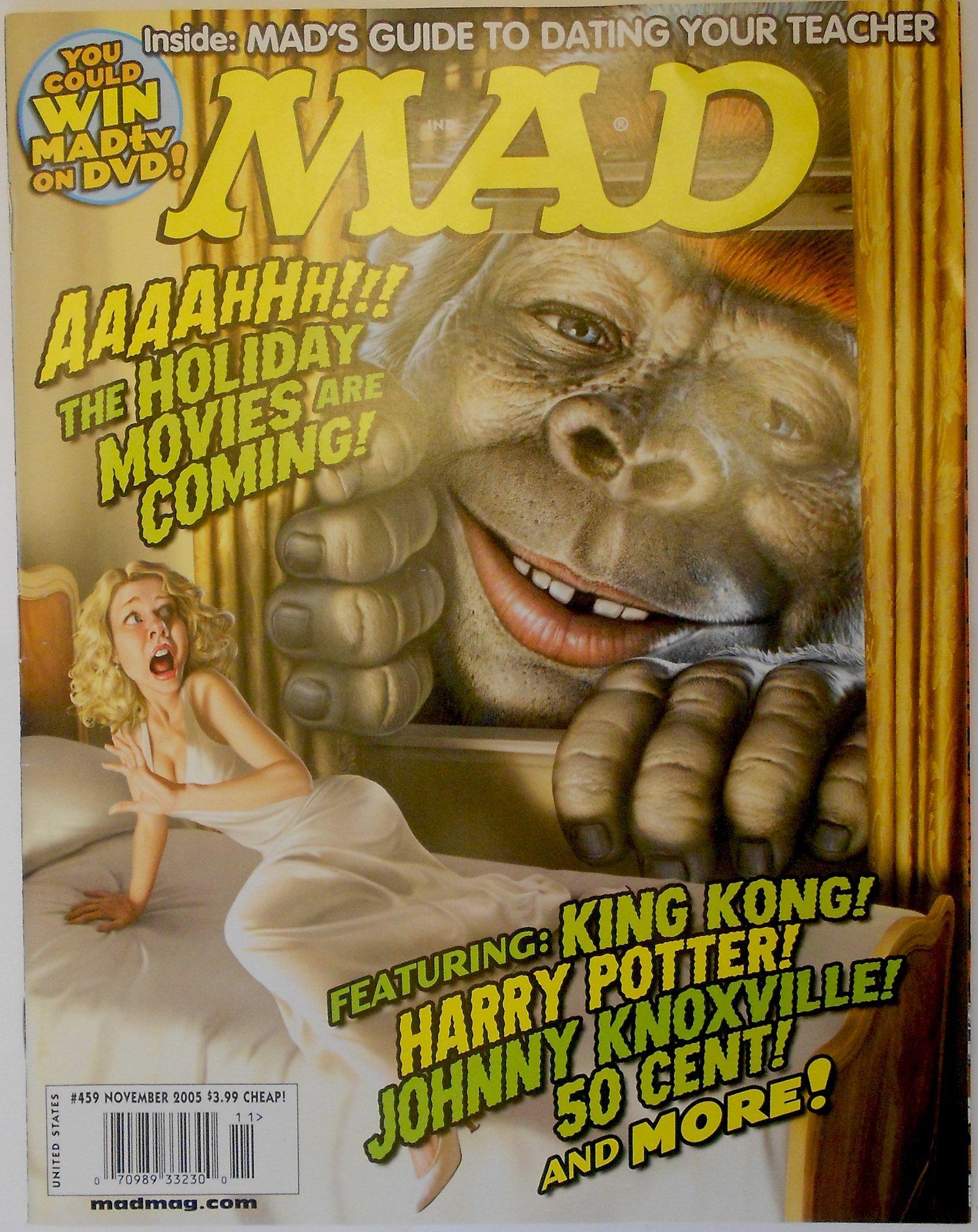 Read Online Mad Magazine Issue # 459 November 2005 ebook
