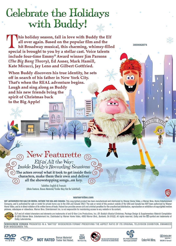 Amazon.com: Elf: Buddy's Musical Christmas: Jim Parsons, Mark ...