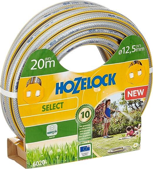 Hozelock Manguera de jardín Select, diámetro 12, 5 mm, 20 m, Color Naranja: Amazon.es: Jardín