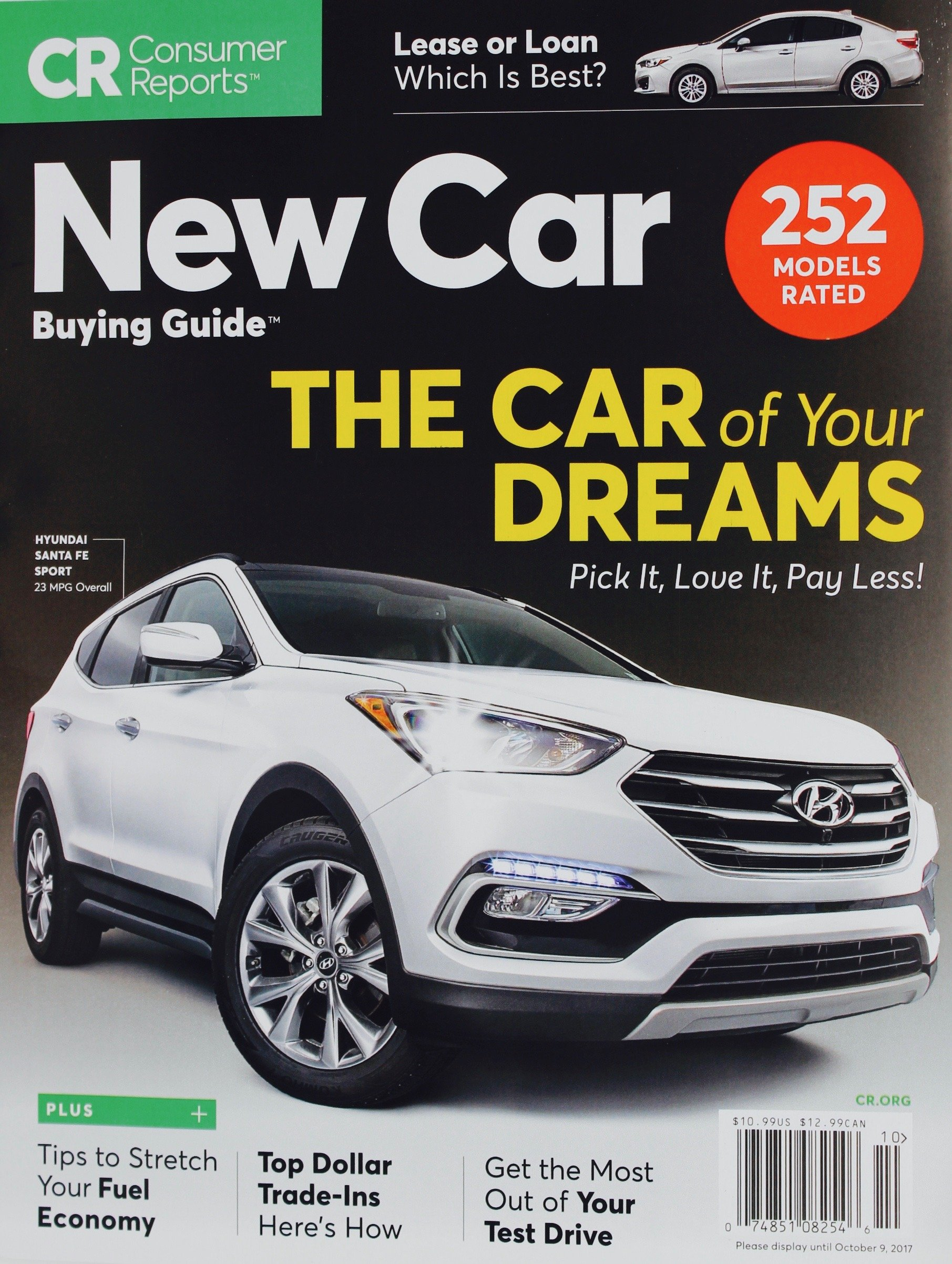 consumer reports buying guide october 2017 252 models rated consumer reports buying guide october 2017 252 models rated consumer reports 0748510825460 amazon com books