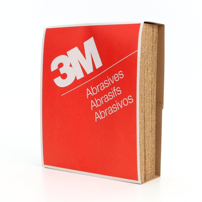 3M Paper Sheet 346U Gold 36 Grit Pack of 50 Aluminum Oxide 9 Width x 11 Length 9 Width x 11 Length