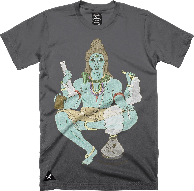 Homegrown Outfitters hombre Shiva camiseta–100% algodón