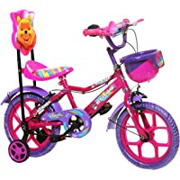 "NY Bikes Aqua 14"" Kids Bicycle 3-5 years (Pink & Purple) Kids Bike"
