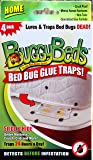 Bed Bug Trap - BuggyBeds Home Glue Traps (4 Pack) - Detect Before Infestation