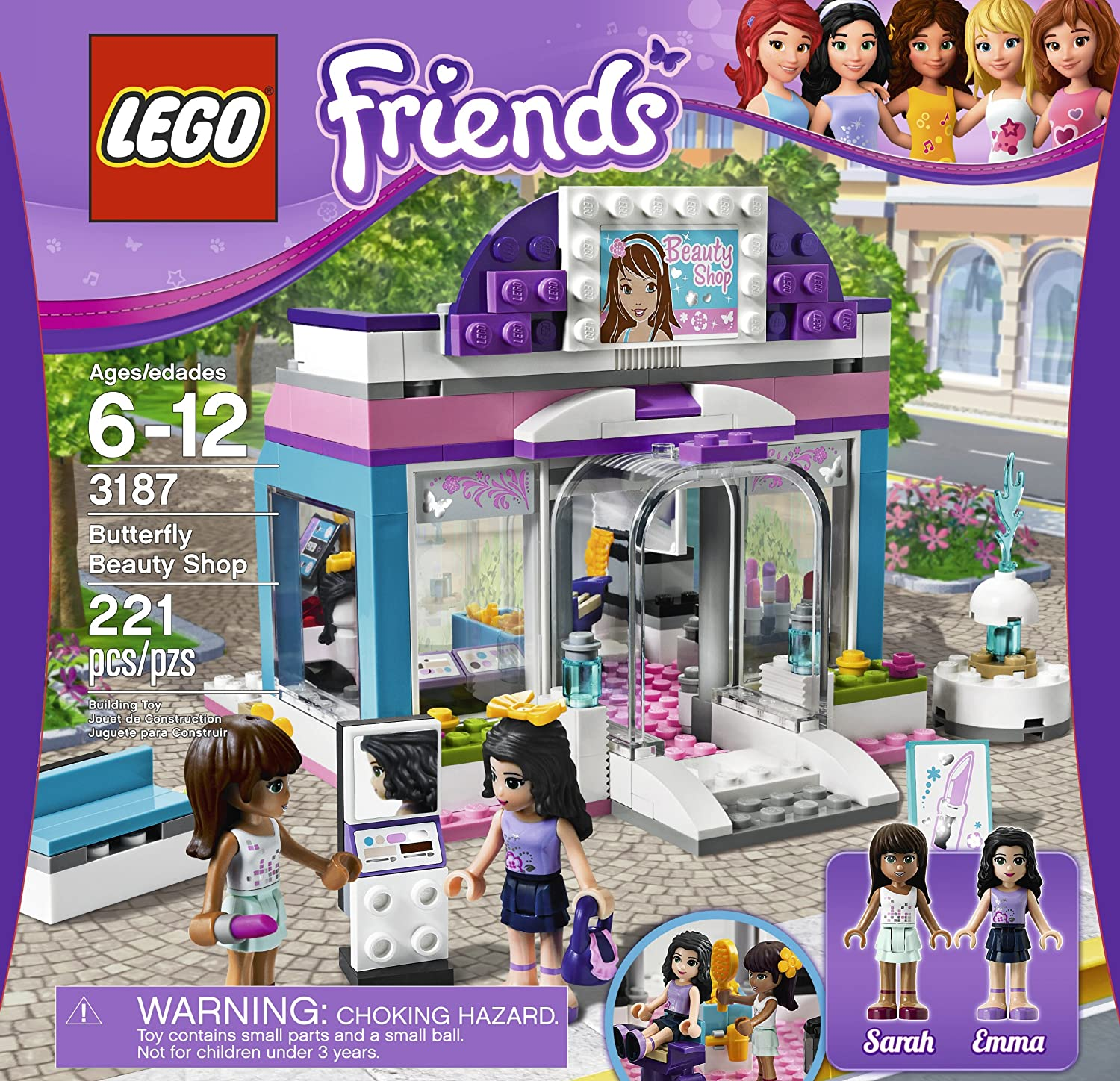 Amazon LEGO Friends Butterfly Beauty Shop 3187 Toys & Games