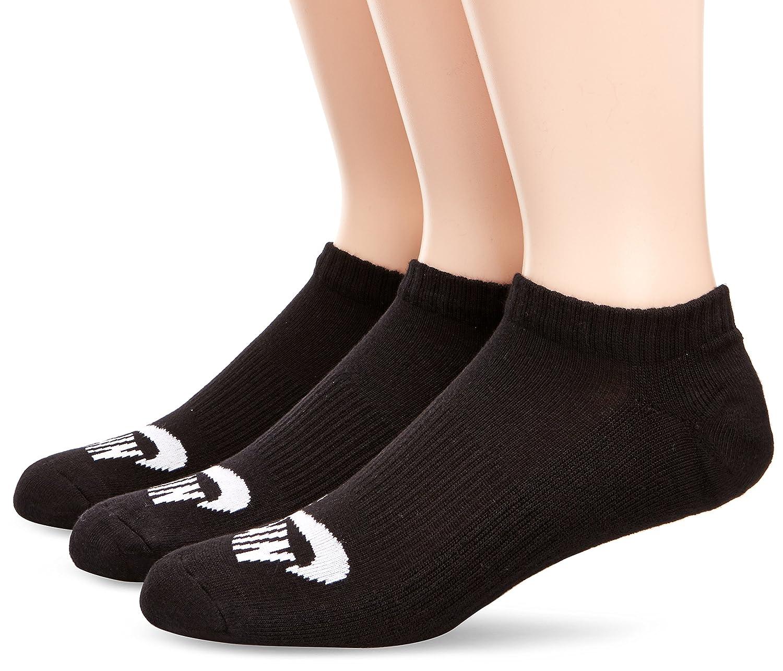 Nike SB 3PPK No Show Sock Pack 3 Pares de Calcetines, Hombre, Blanco (Black/White), M: Amazon.es: Deportes y aire libre